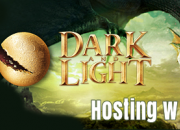 Dark and light banner